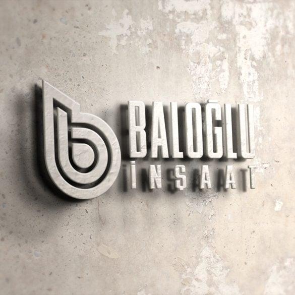 Baloğlu İnşaat Logo Tasarımı