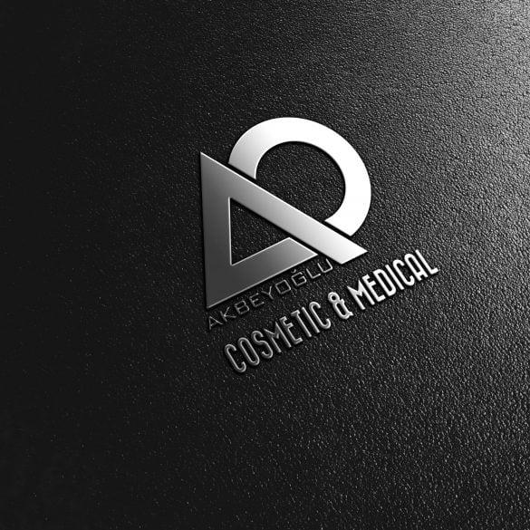 Akbeyoğlu Medikal Kozmetik Logo Çalışması