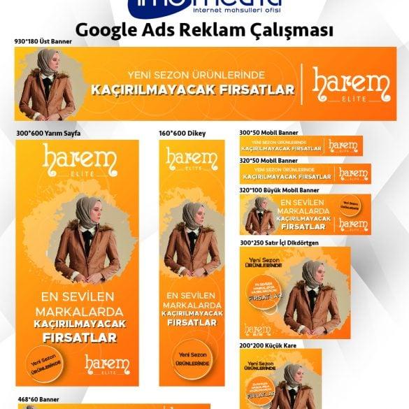 Harem Elite Google Reklam Çalışması